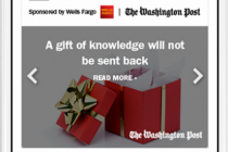 New Washington Post promotional unit integrates editorial content to deliver a tailored ad experience   The Washington Post