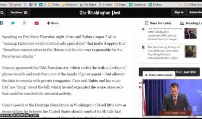 Washington Post   New Minimizing Video Window   YouTube