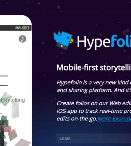 Hypefolio   Interactive Mobile Storytelling2