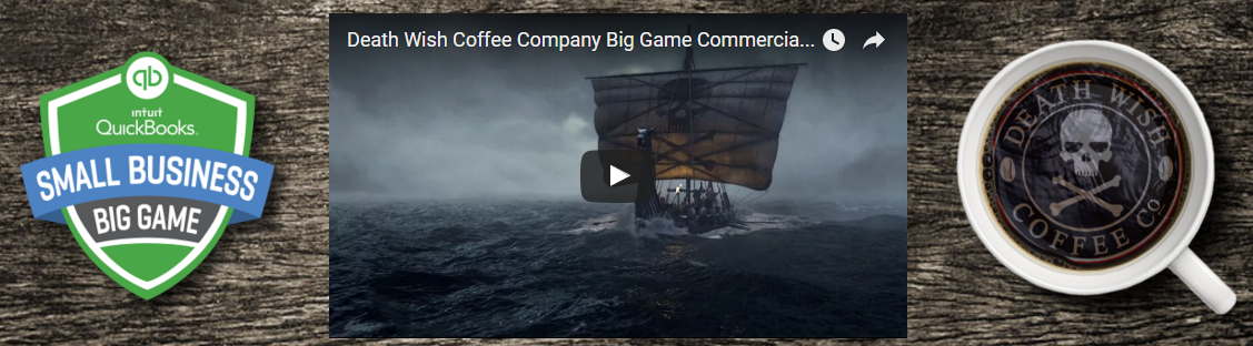 TV Commercial Winner Death Wish Coffee Small Business Big Game