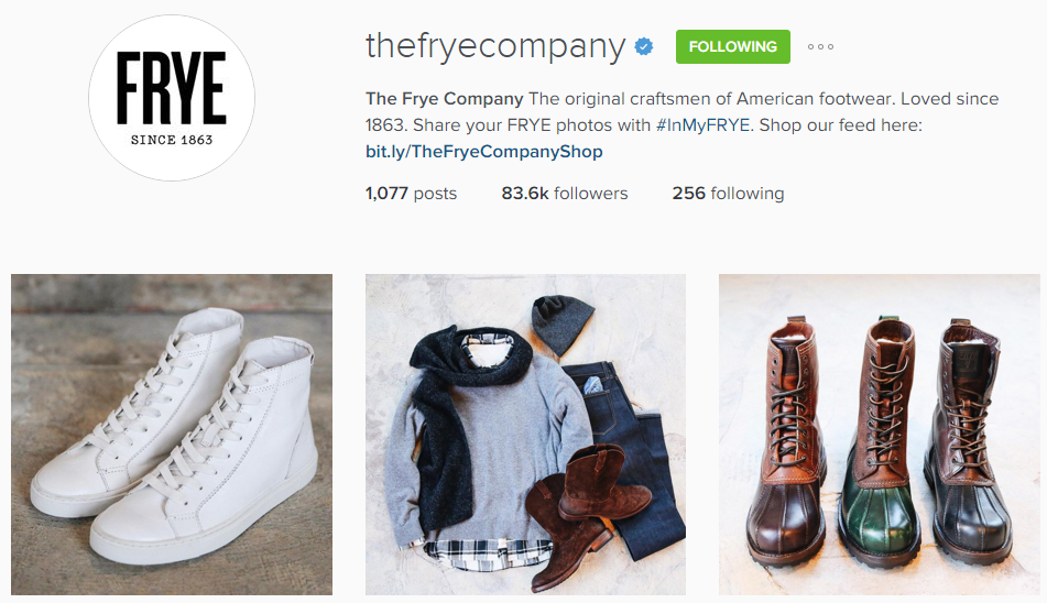 The Frye Company   thefryecompany  • Instagram photos and videos