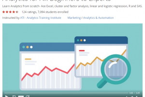 Analytics for All  Beginners to Experts   Udemy
